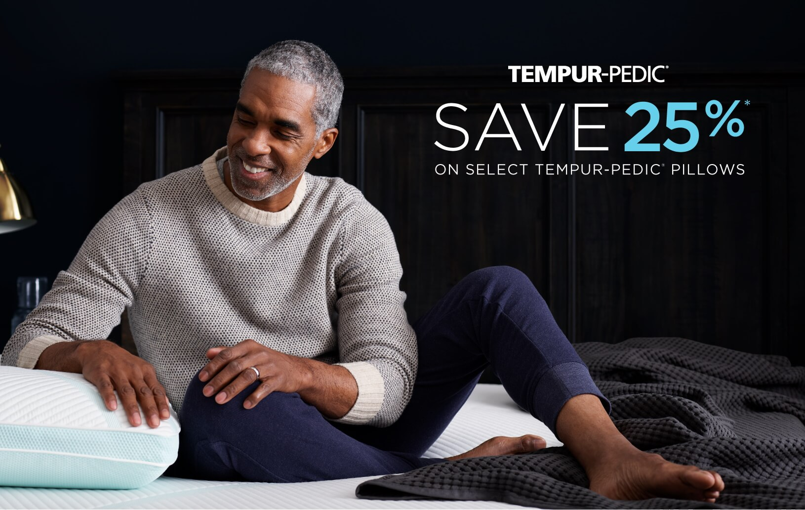 Tempur-Pedic: Save 25% on select Tempur-Pedic pillows
